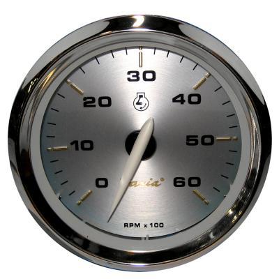 faria kronos 4 tachometer 6 000 rpm gas inboard i o. Black Bedroom Furniture Sets. Home Design Ideas