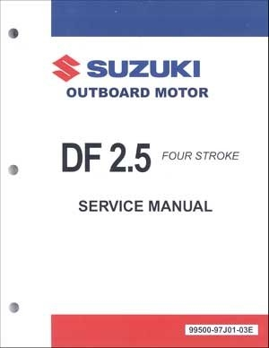 suzuki suz 99500 97j01 03e df2 5 service manual rh internationalmarineservice com Suzuki Outboard Head Gasket Suzuki Df2.5 Service Manual