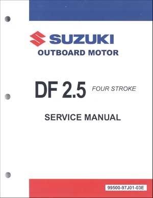 Suzuki SUZ-99500-97J01-03E DF2 5 Service Manual
